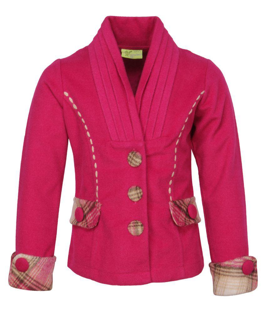 Cutecumber Pink Velour Coats