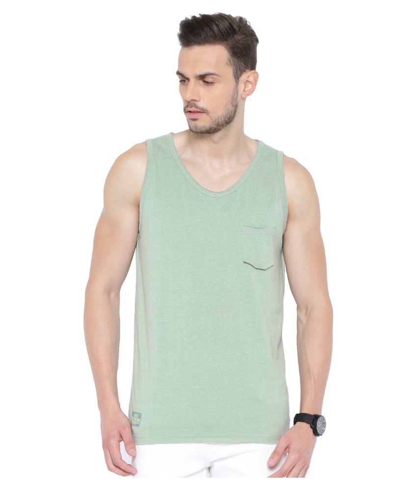 Cult Fiction Green Round T-Shirt