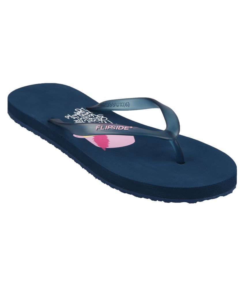 Flipside Womens Vacation Teal Flipflops
