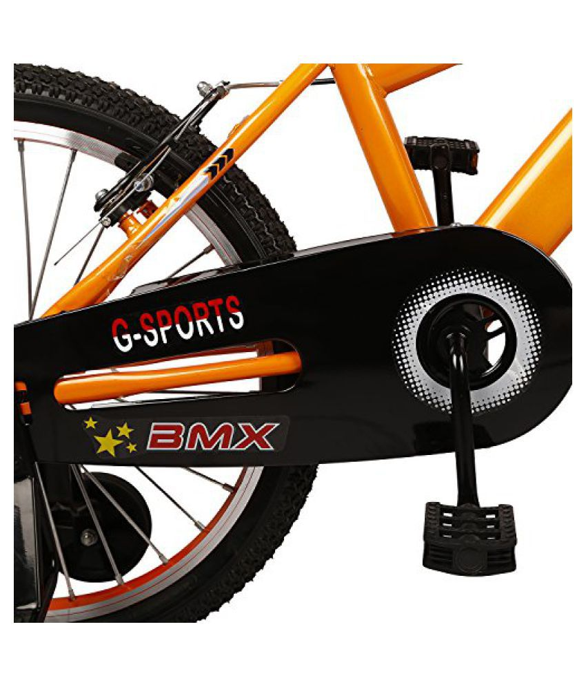 80a4d43fb11 Cycle World Orange Steel Bicycle: Buy Online at Best Price on Snapdeal