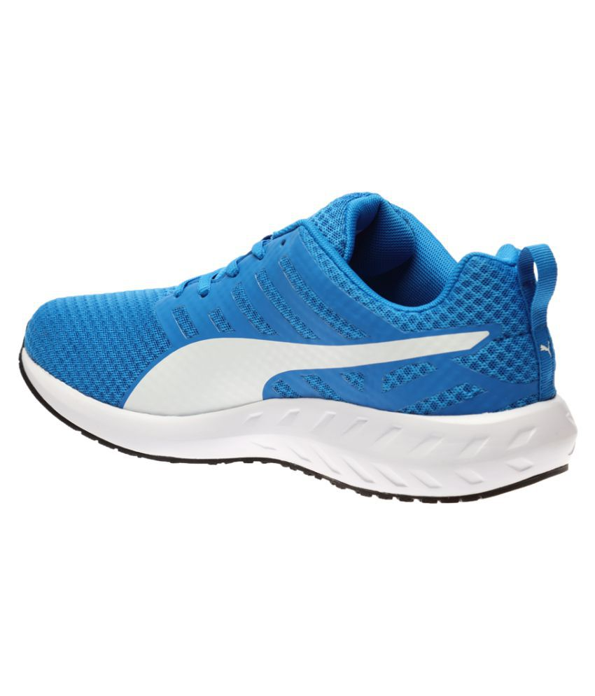 ... Puma Flare Mesh H2T Blue Running Shoes ...