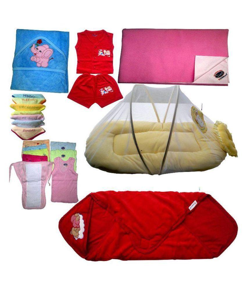 Xchildhood Multicolour Baby Gift Set