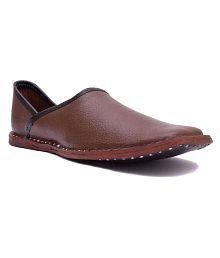Rajsahi Brown Designer Shoe