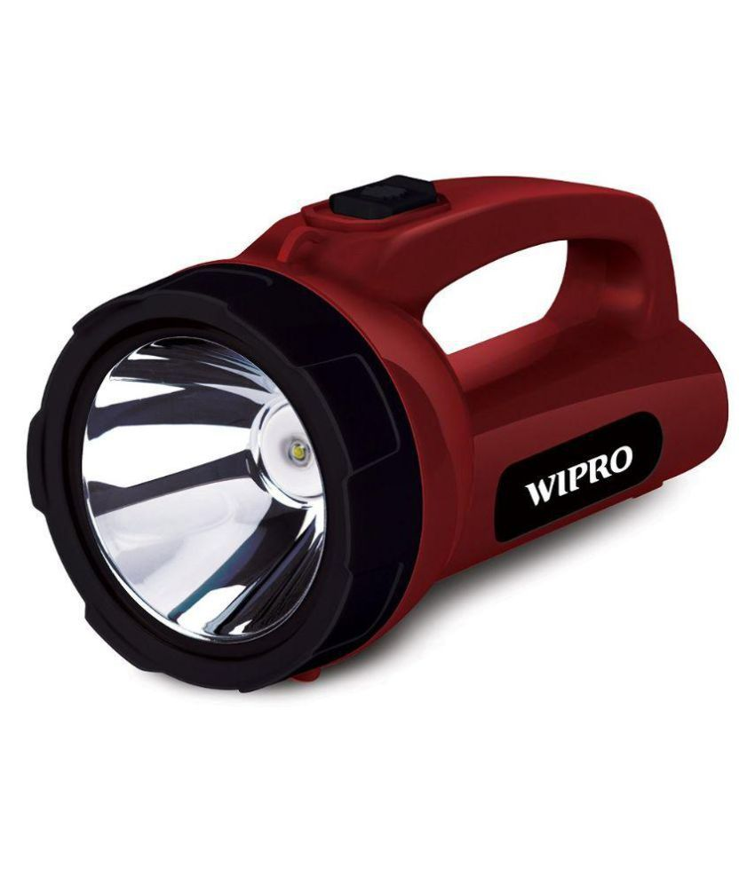 Wipro Emerald 5w Rechargeable Torch Emergency Led Light