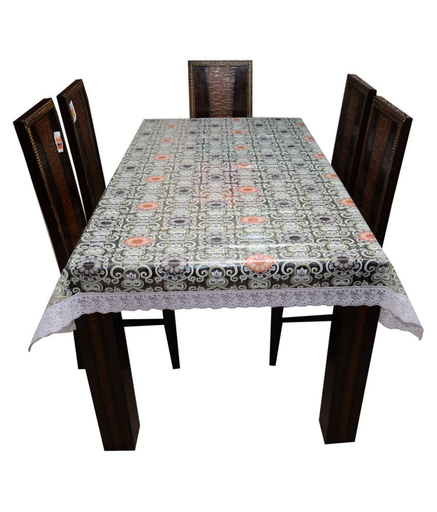 Decor Club 6 Seater PVC Single Table Covers