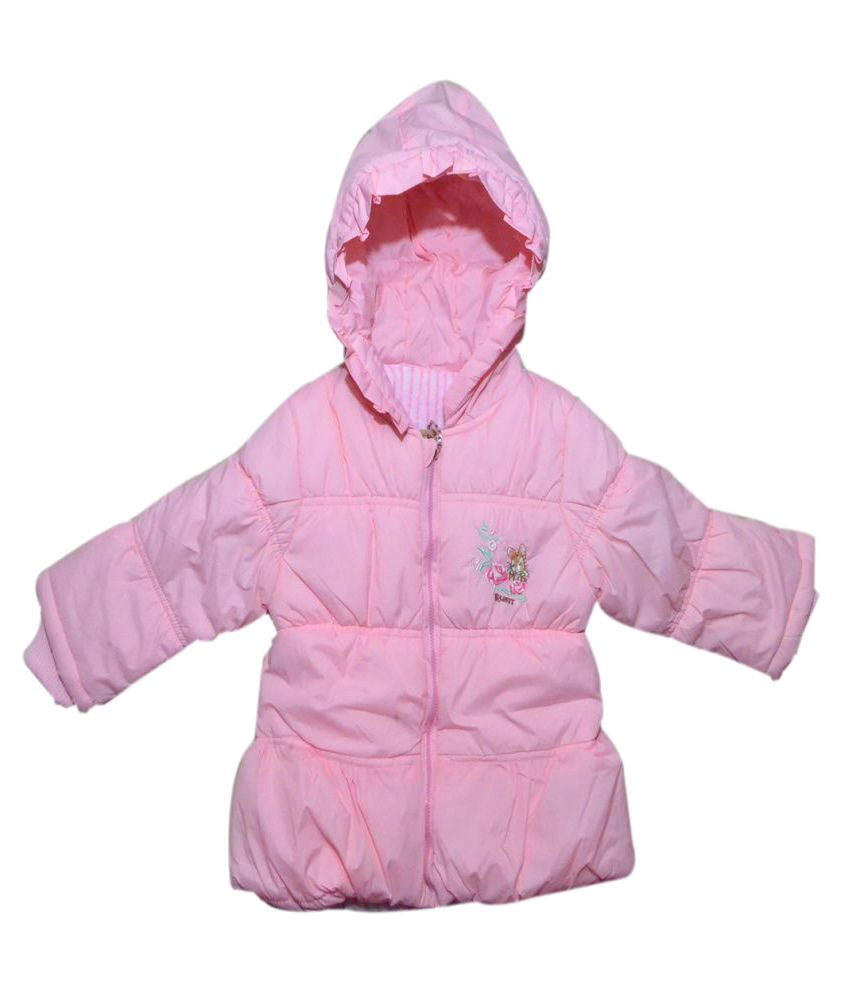 Winter Fuel Pink Polyester Light Weight Jacket