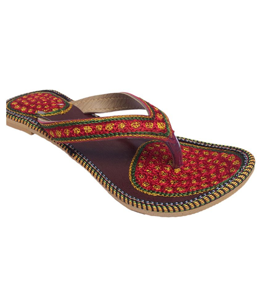 Indcrown Multi Color Flat Flats