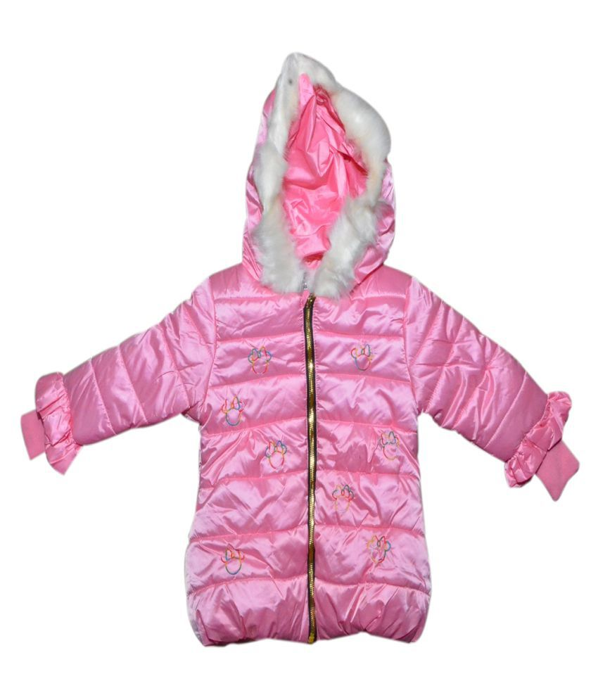 Winter Fuel Pink Jacket for Girls