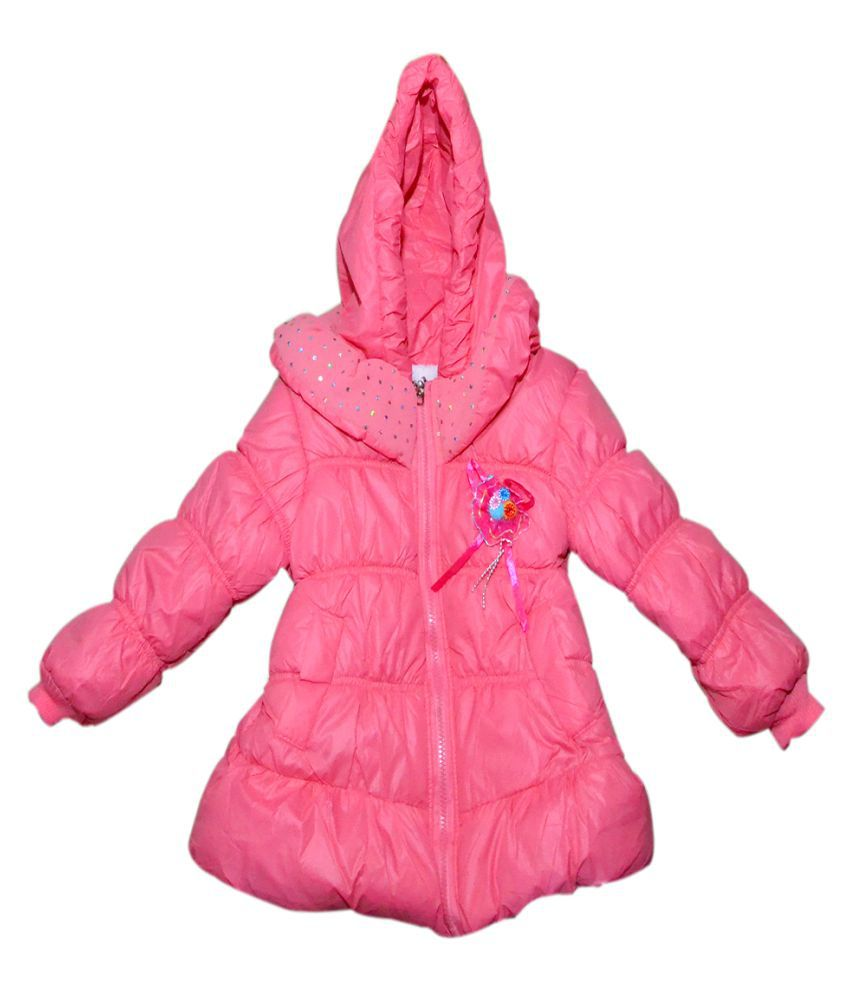 Winter Fuel Pink Light Weight Jacket