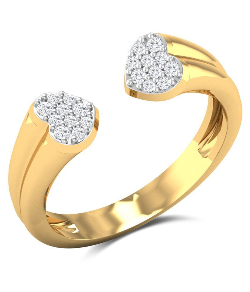 Zaamor Diamonds 18k Gold Diamond Ring