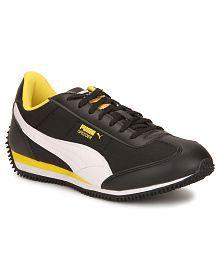Puma Velocity Tetron II DP Black & whiteCasual Shoes