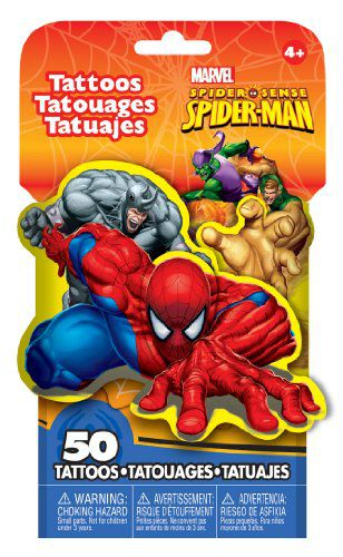 Marvel Spider Man 3d Novelty Pack Of 50 Temporary Tattoos Buy Marvel Spider Man 3d Novelty Pack Of 50 Temporary Tattoos Online At Low Price Snapdeal