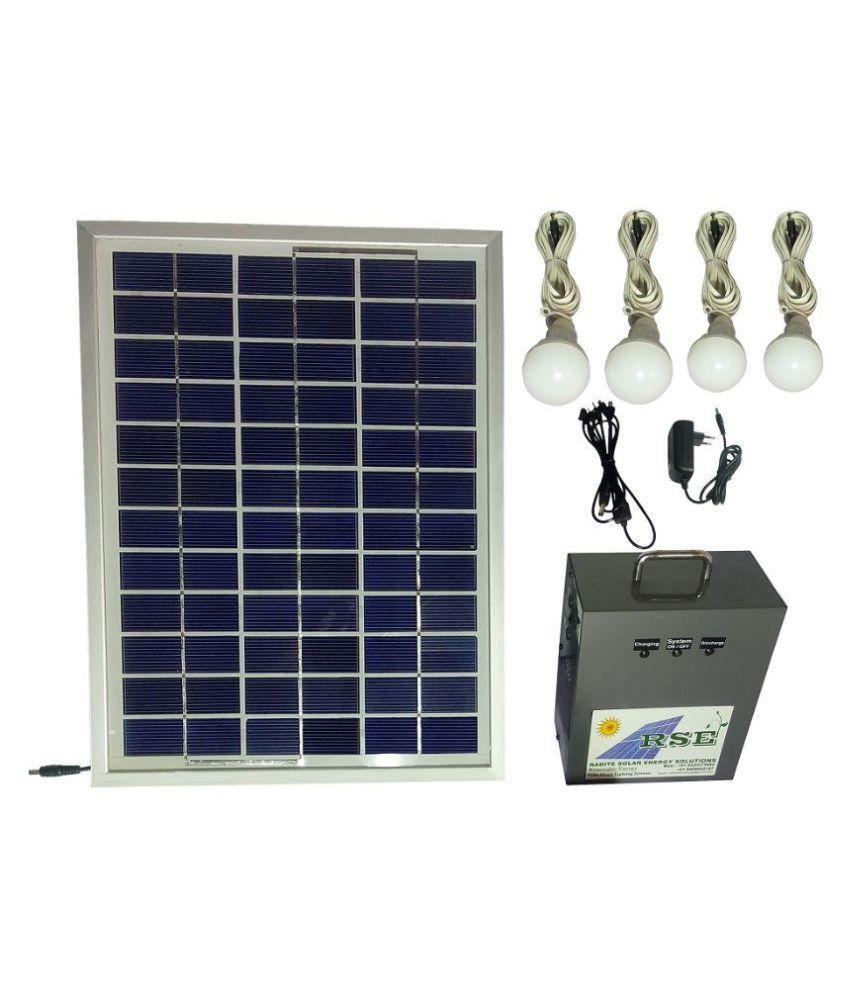 Solar Home Lighting: Solar Home Lighting Systems Price In India