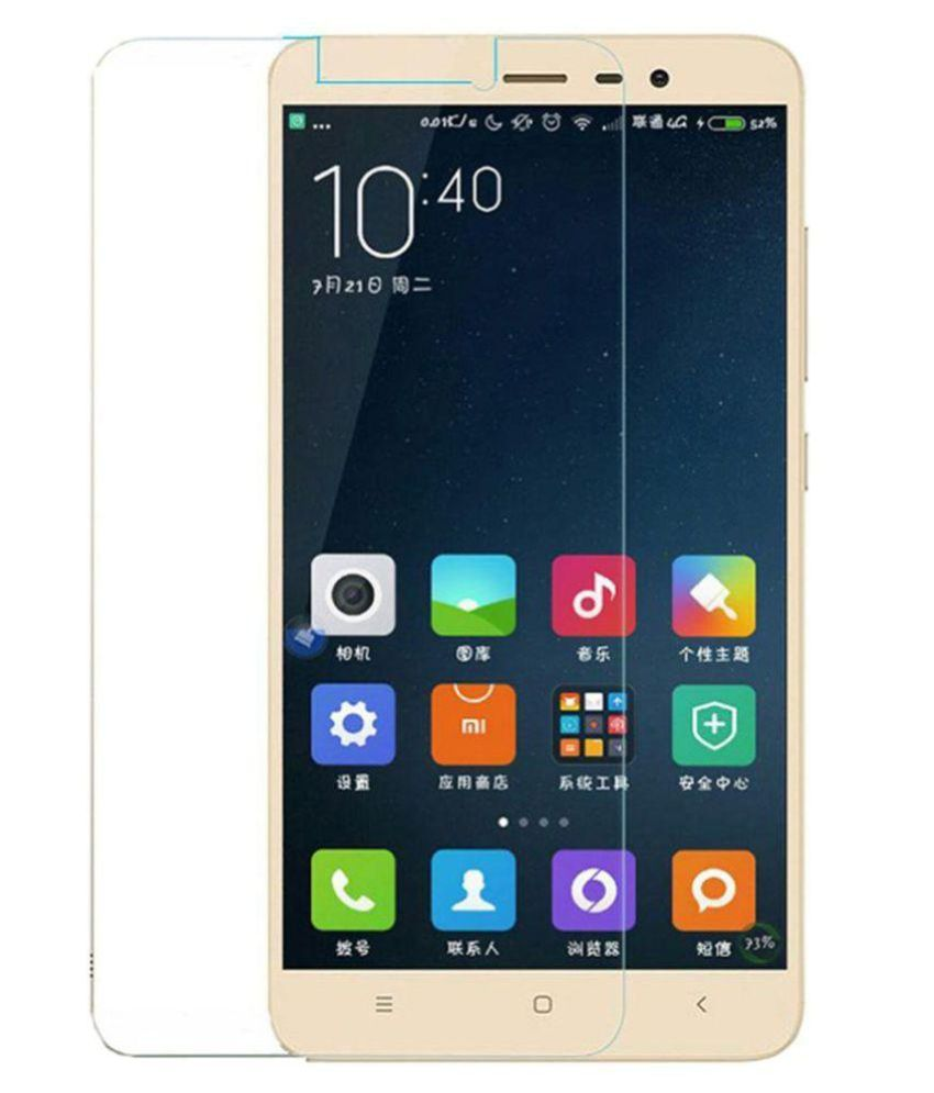 Xiaomi Redmi 3s Prime Tempered Glass Screen Guard By Cellshop