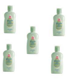 Johnson's Baby Massage Oil - Pack Of 5