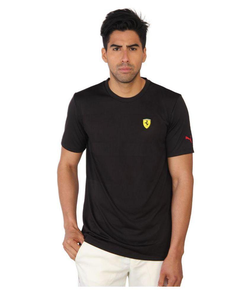 Puma Black Round T-Shirt