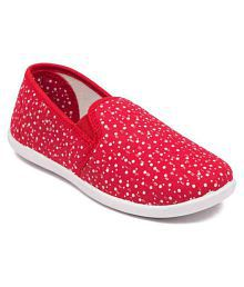 Asian Red Casual Shoe for Kids
