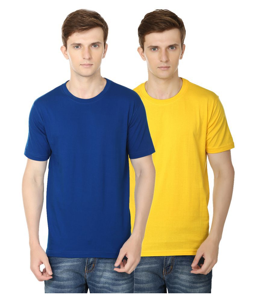 Club Vintage Multi Round T-Shirt Pack of 2