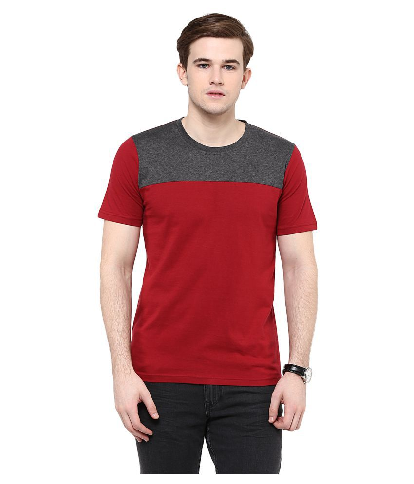 Colors Couture Red Round T-Shirt