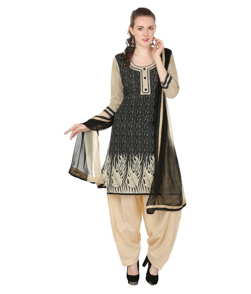 Aafra Fashion Multicoloured Cotton Straight