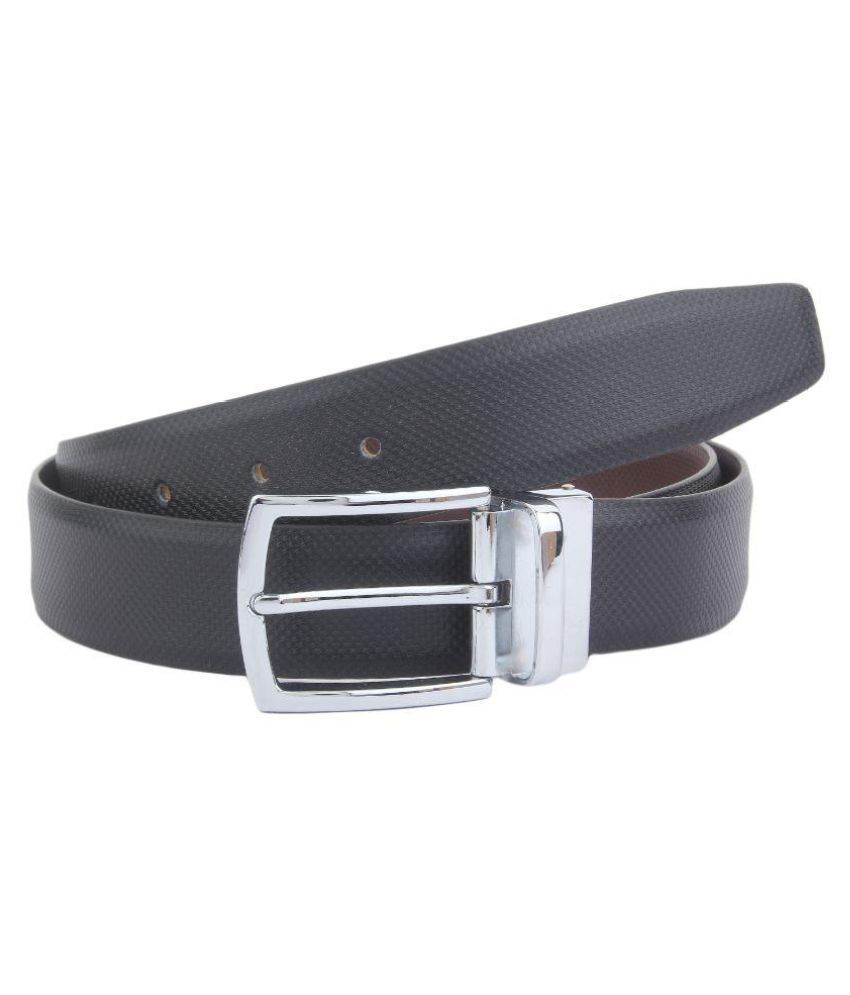 Dscotlee Black Leather Formal Belts