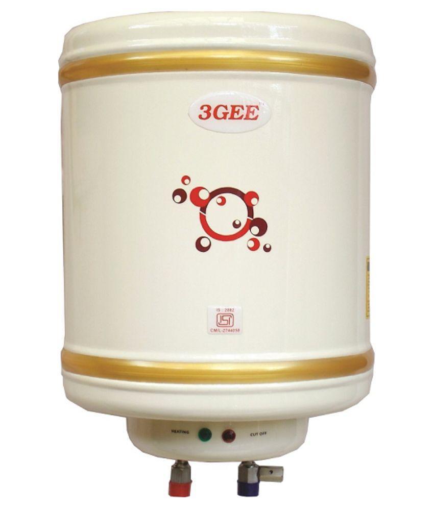 3Gee Classic 35 Litre Vertical Storage Water Geyser