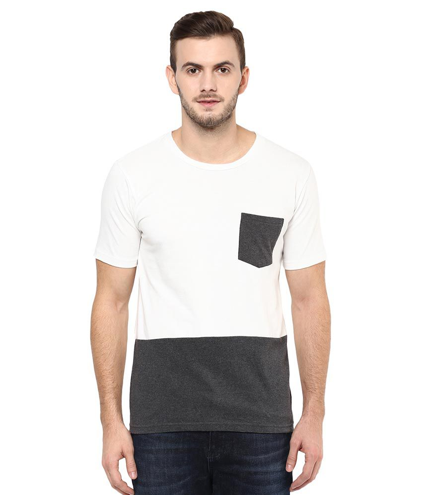 Colors Couture White Round T-Shirt