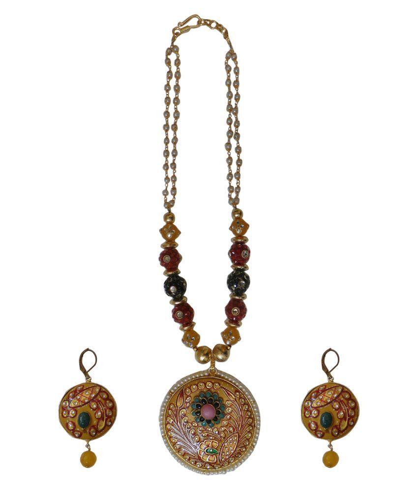 Charvee Multicolor Necklace Set