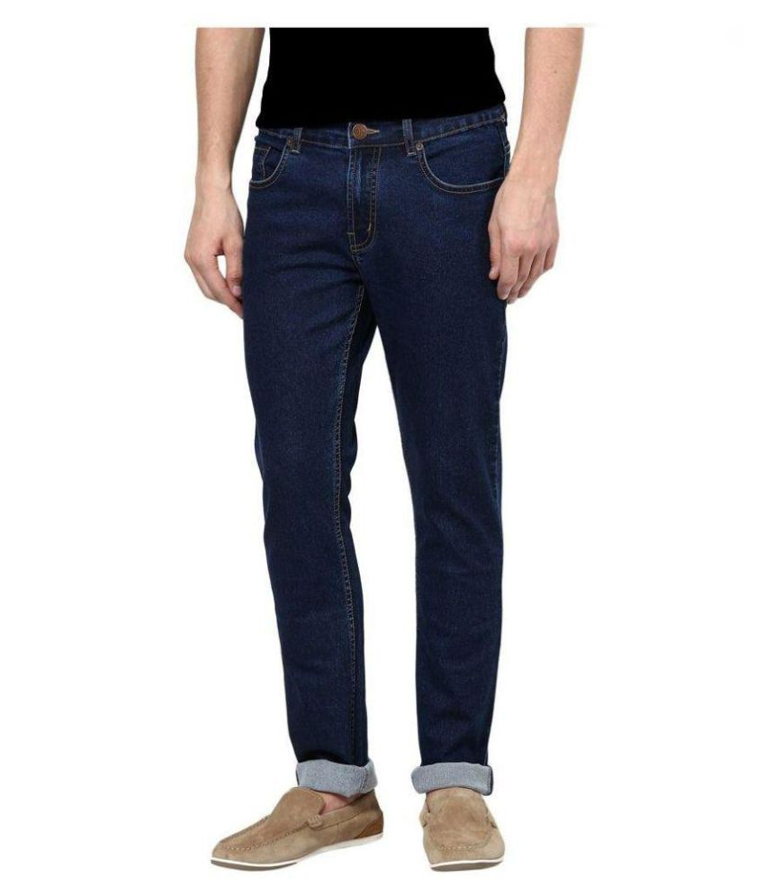 Daller Blue Slim Washed