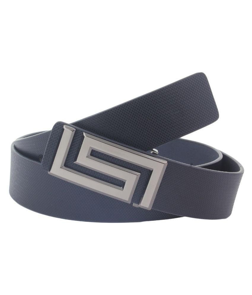 Dscotlee Black Leather Casual Belt