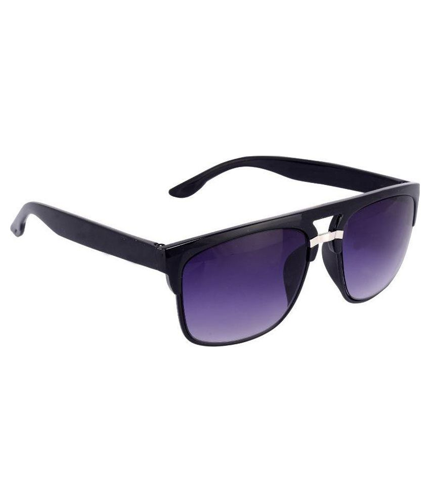 83dce750032 Silver Kartz Blue Clubmaster Sunglasses ( ) - Buy Silver Kartz Blue Clubmaster  Sunglasses ( ) Online at Low Price - Snapdeal