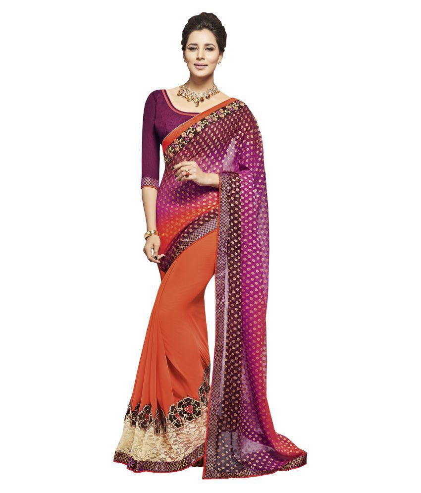 Women Icon Multicoloured Jacquard Saree