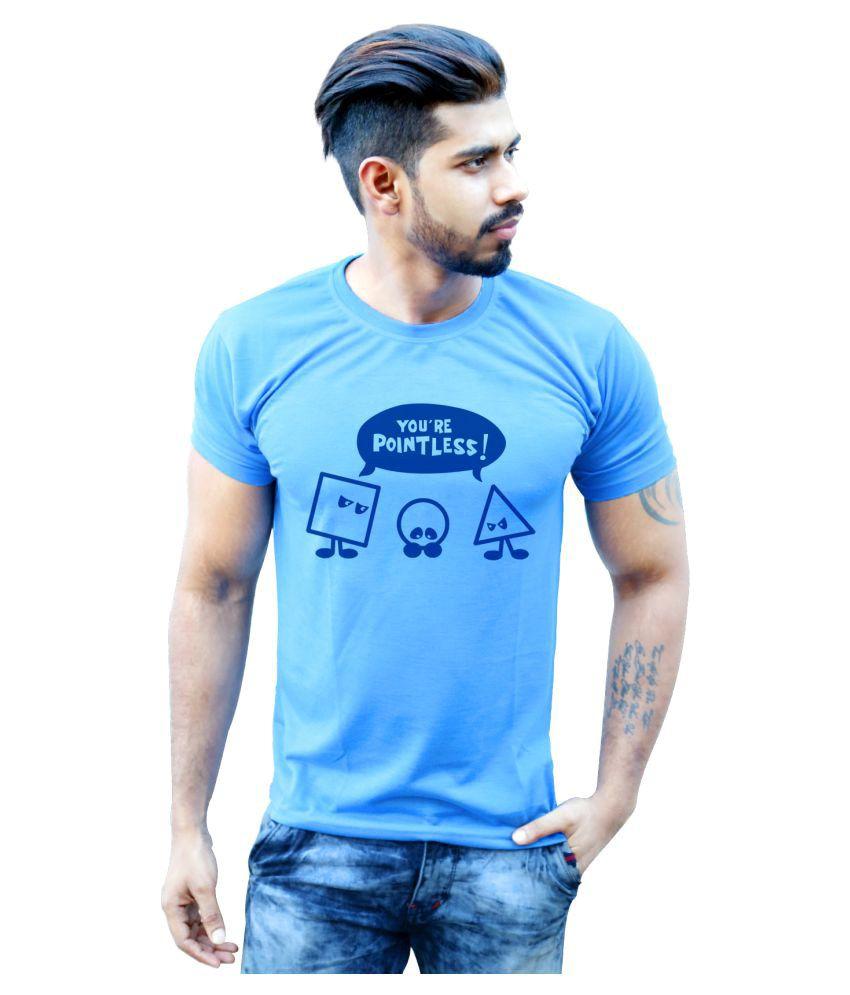 Bastard Tendencies Blue Round T-Shirt