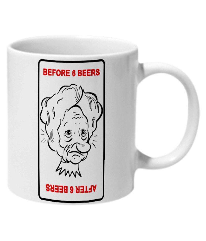 Mooch Wale Melamine Coffee Mug 1 Pcs 325 ml