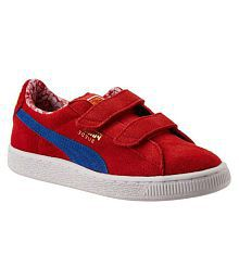 Puma Red Sport and Outdoor Shoes