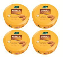 Joy Honey & Almonds Nourishing Skin Cream 800 Ml (Pack Of 4 X 200 Ml)