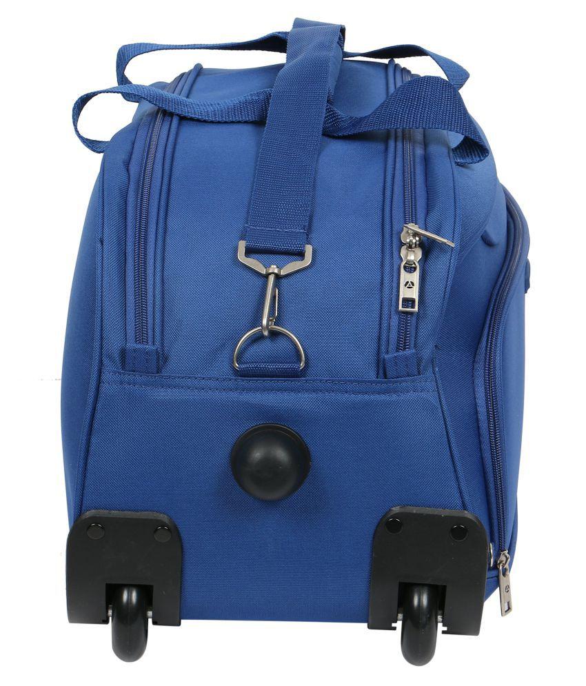 Aristocrat Blue Duffle Trolley - Buy Aristocrat Blue Duffle Trolley ... d461e6403b65e