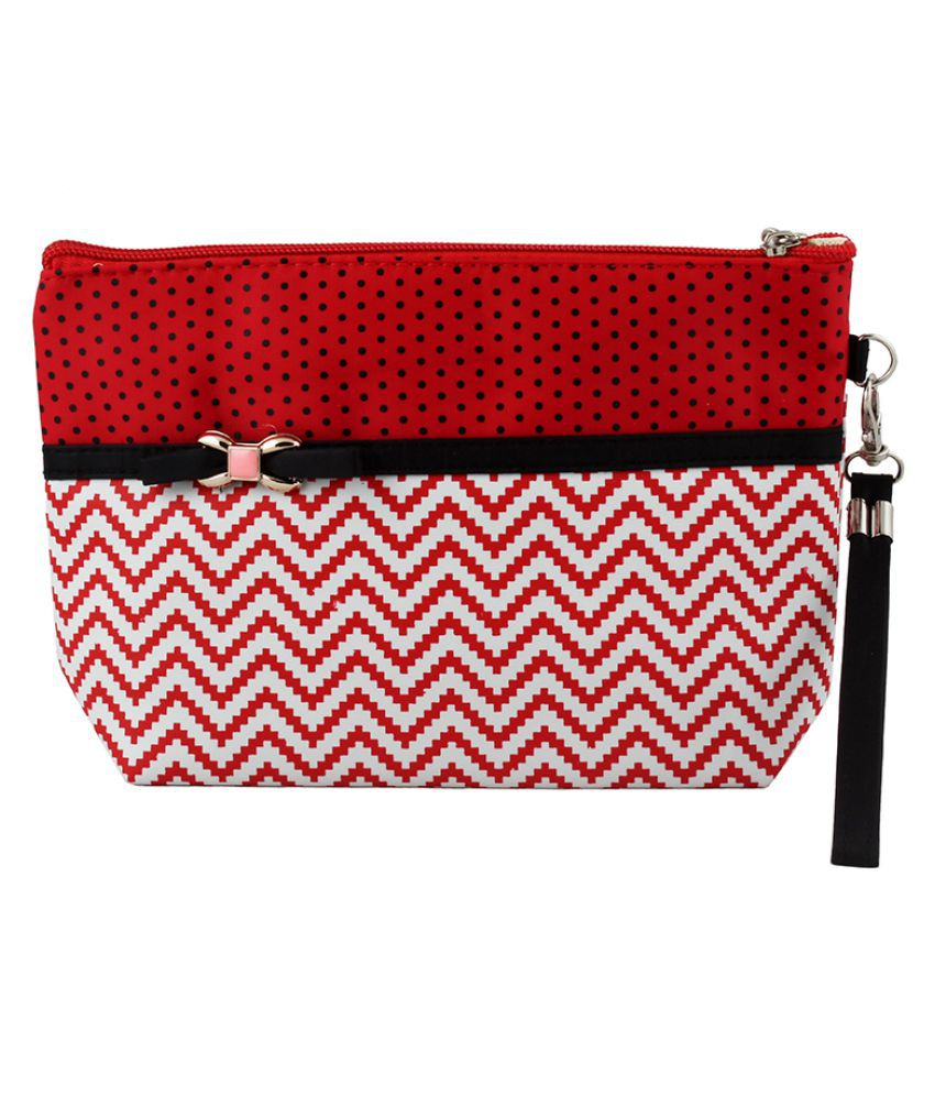 Styler Red Vanity Kit and pouches - 1 Pc