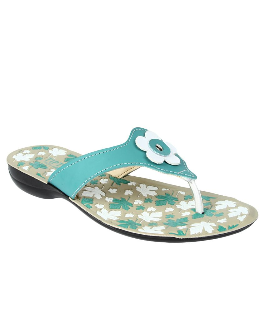 Tiptopp By Liberty Green Slippers