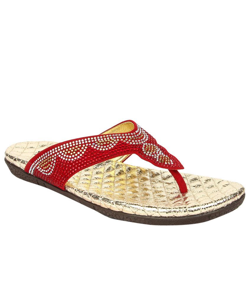 Senorita By Liberty Red Slippers