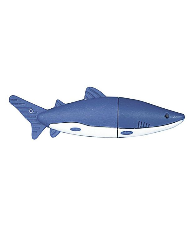 Zeztee 4024 Dolphin 16GB USB 2.0 Fancy Pendrive Blue