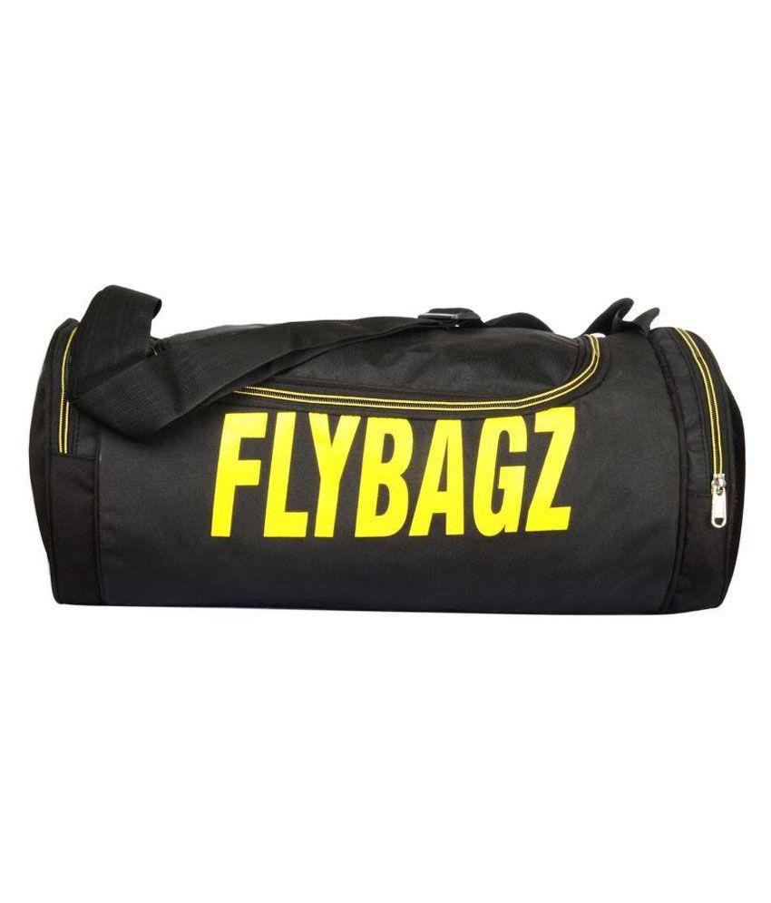 Flybagz Black Gym Bag
