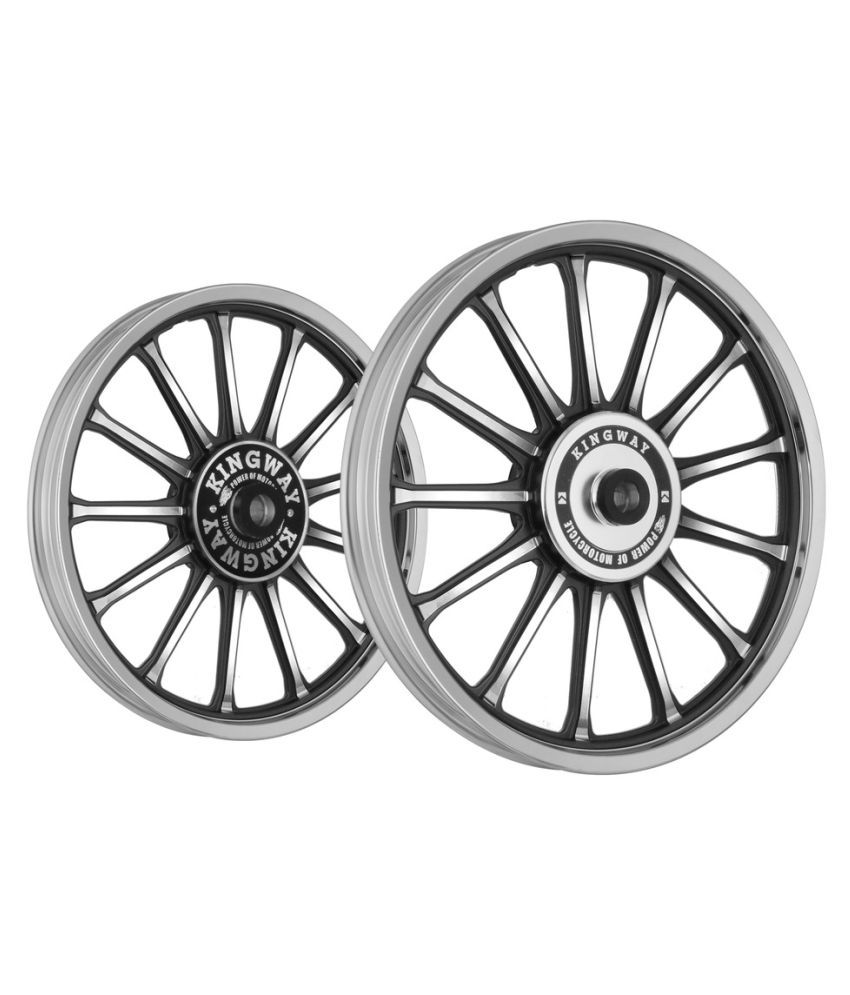 6ee87ce1011 Kingway SR3A 13 Spokes Bike Alloy Wheel Set of 2: Buy Kingway SR3A 13  Spokes Bike Alloy Wheel Set of 2 Online at Low Price in India on Snapdeal