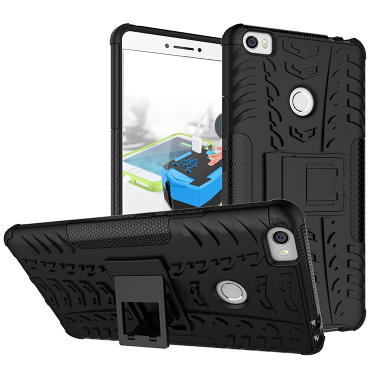 new styles dc901 ef842 Kick Stand Back Cover for Xiaomi MI Max
