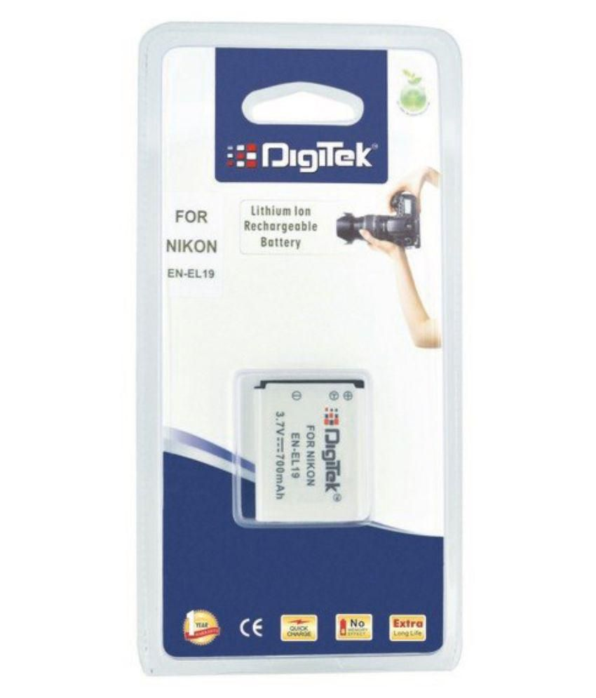 Digitek ENEL 19 700 mAh 3.7V Rechargeable Battery 1 cm