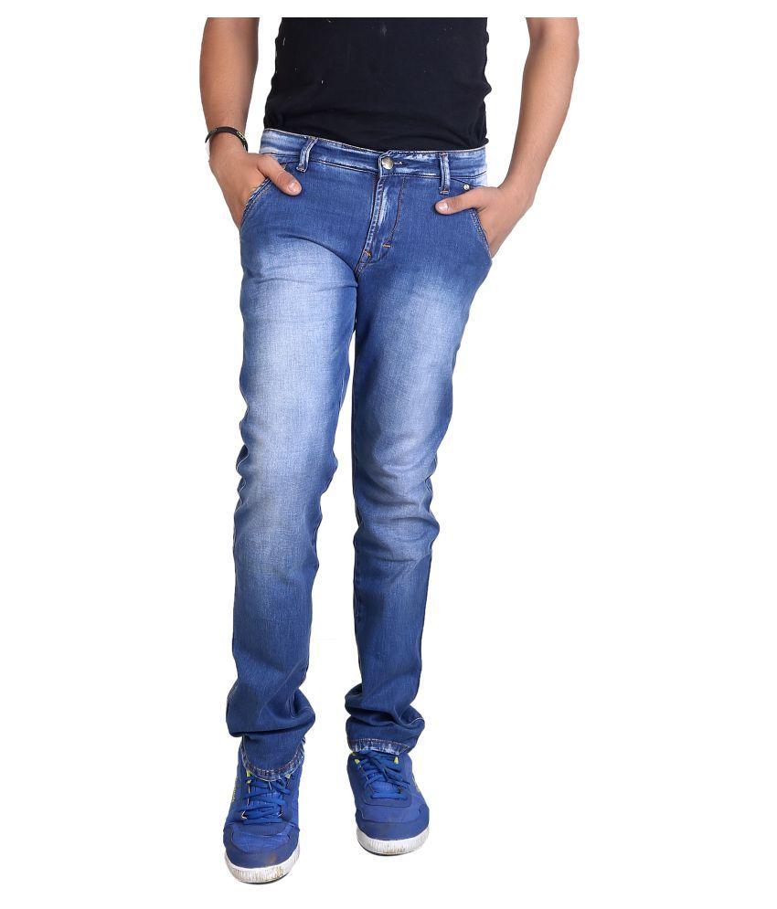 Fashion Stylus Blue Slim Faded