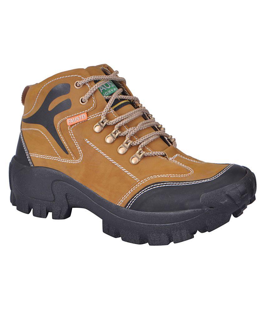 Fausto Tan Hiking & Trekking Boot