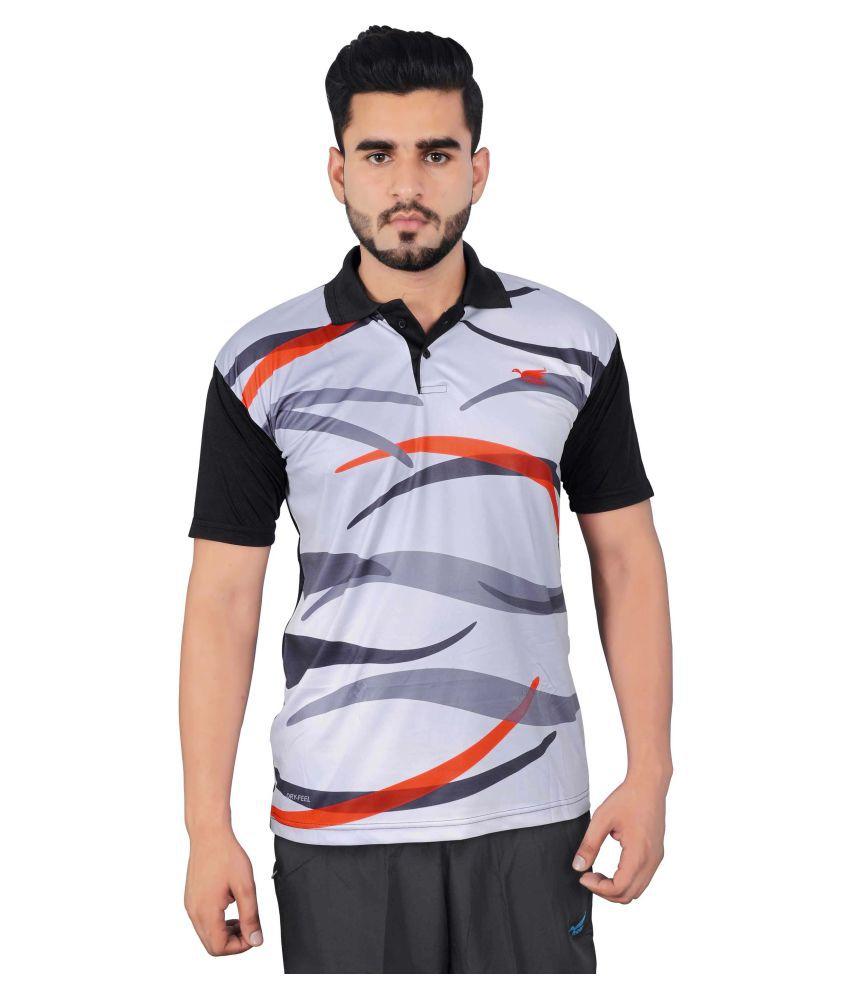 NNN Grey Polyester T-Shirt