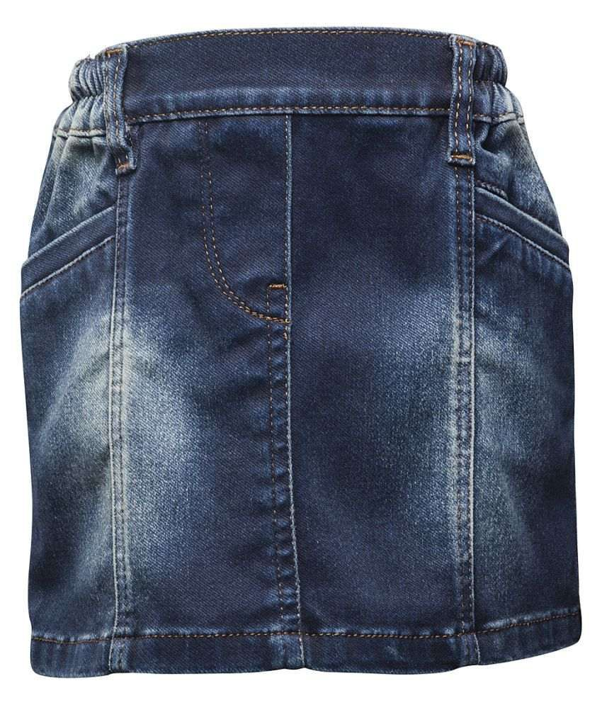 Western Basics Blue Shorts