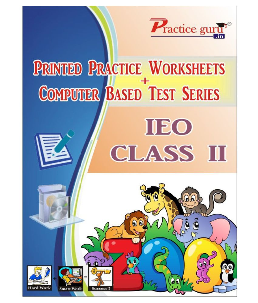 Printed Practice Worksheets & Computer Based Test Series for IEO Class 2